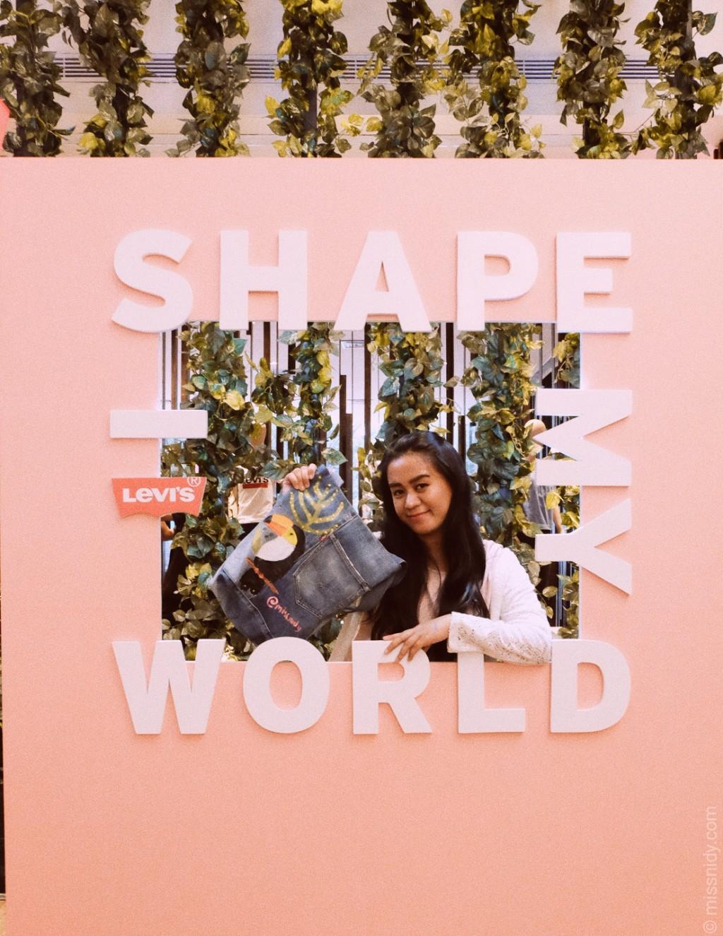 i shape my world
