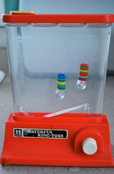 my first handheld game