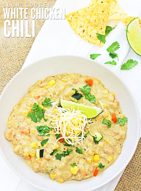 White Chicken Chili Recipe Slow Cooker