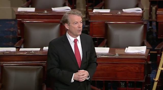 Rand Paul revels in role of Senate troublemaker