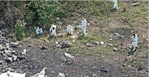 """A """"Los Rojos"""" los llevaron a la brecha del basurero de Cocula, donde los privaron de la vida y posteriormente los quemaron:""""Antes de los normalistas, otro paquete fue incinerado"""""""