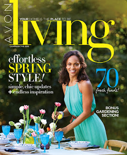 Avon Living Spring time decor 2016. For Campaigns 7-10 2016.