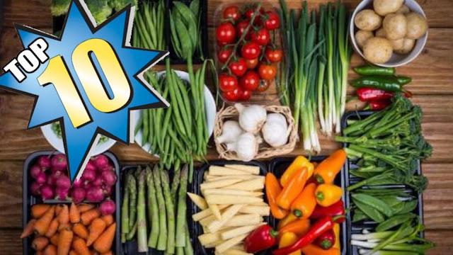 خضروات لقائمة طعام صحى