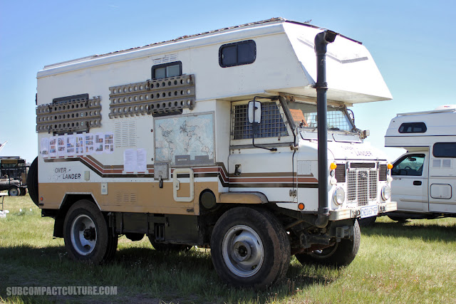 1974 Land Rover Forward Control Overland Vehicle