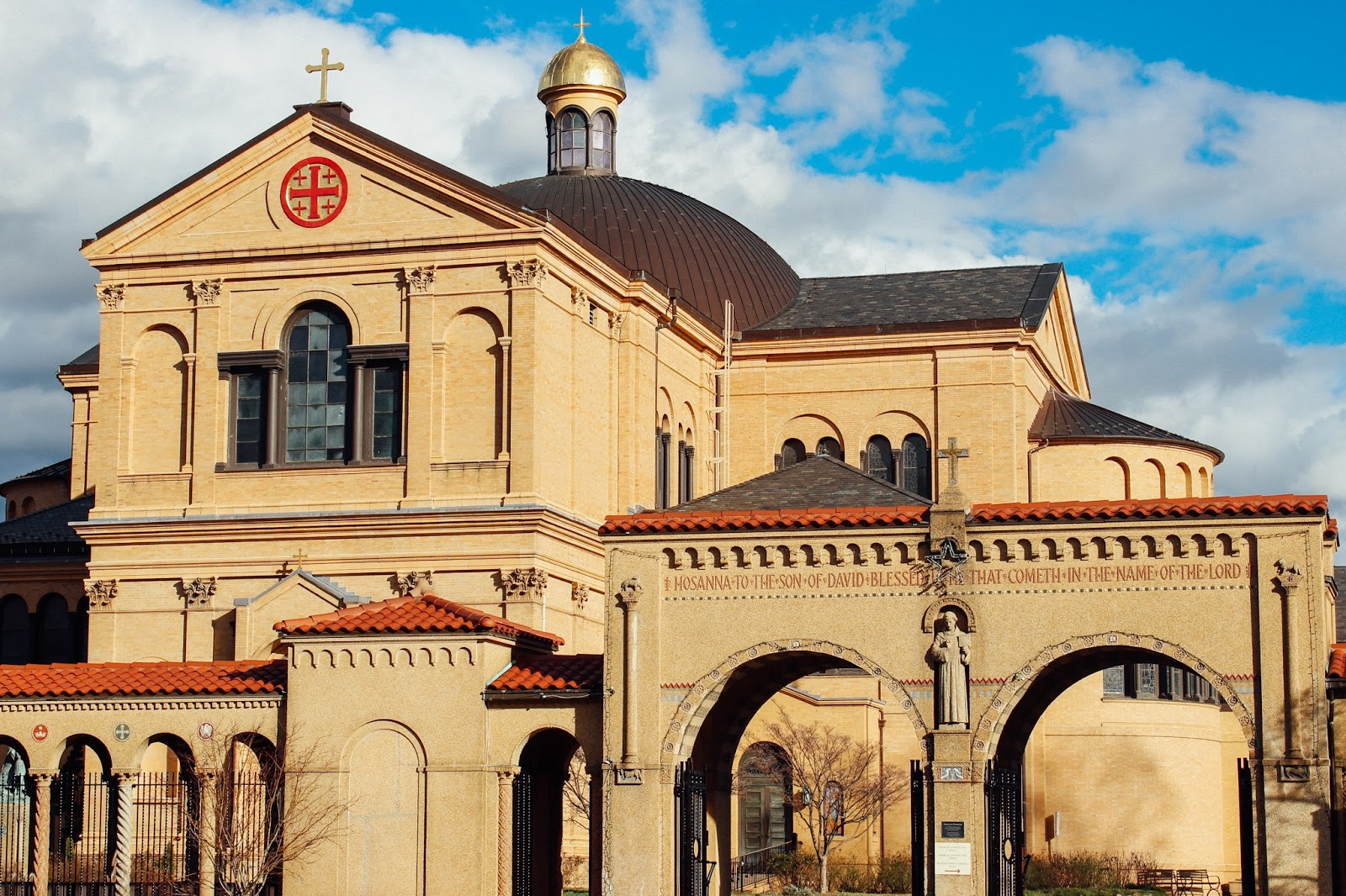 Not-So-SAHM: Franciscan Monastery of the Holy Land in America