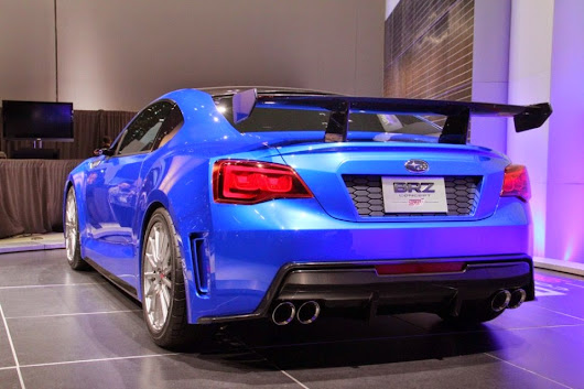 Subaru BRZ STI Pictures, Images, Photos