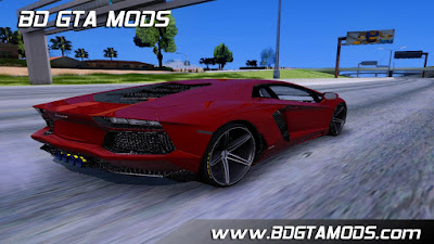 Lamborghini Aventador LP700-4 Light Tune para GTA San Andreas, GTA SA - Lamborghini Aventador LP700-4 Light Tune for GTA SA