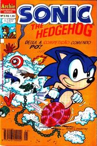 Revista Sonic 7 - Editora Escala