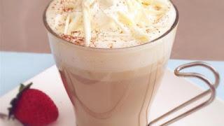 Kávé fehér csokival