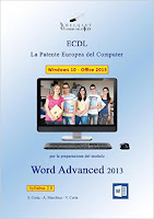Word Advanced 2013. La patente europea del computer ECDL. Con CD-ROM