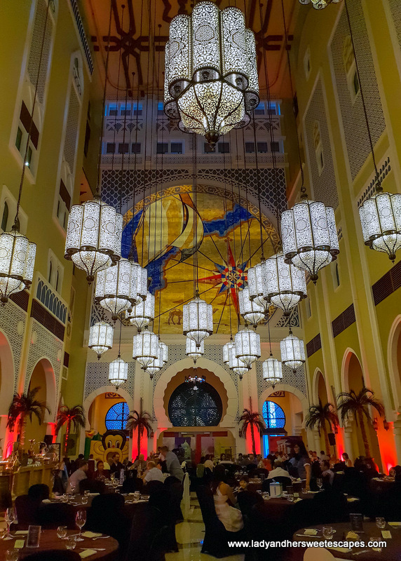 Ibn Battuta Gate hotel Moroccan lamps