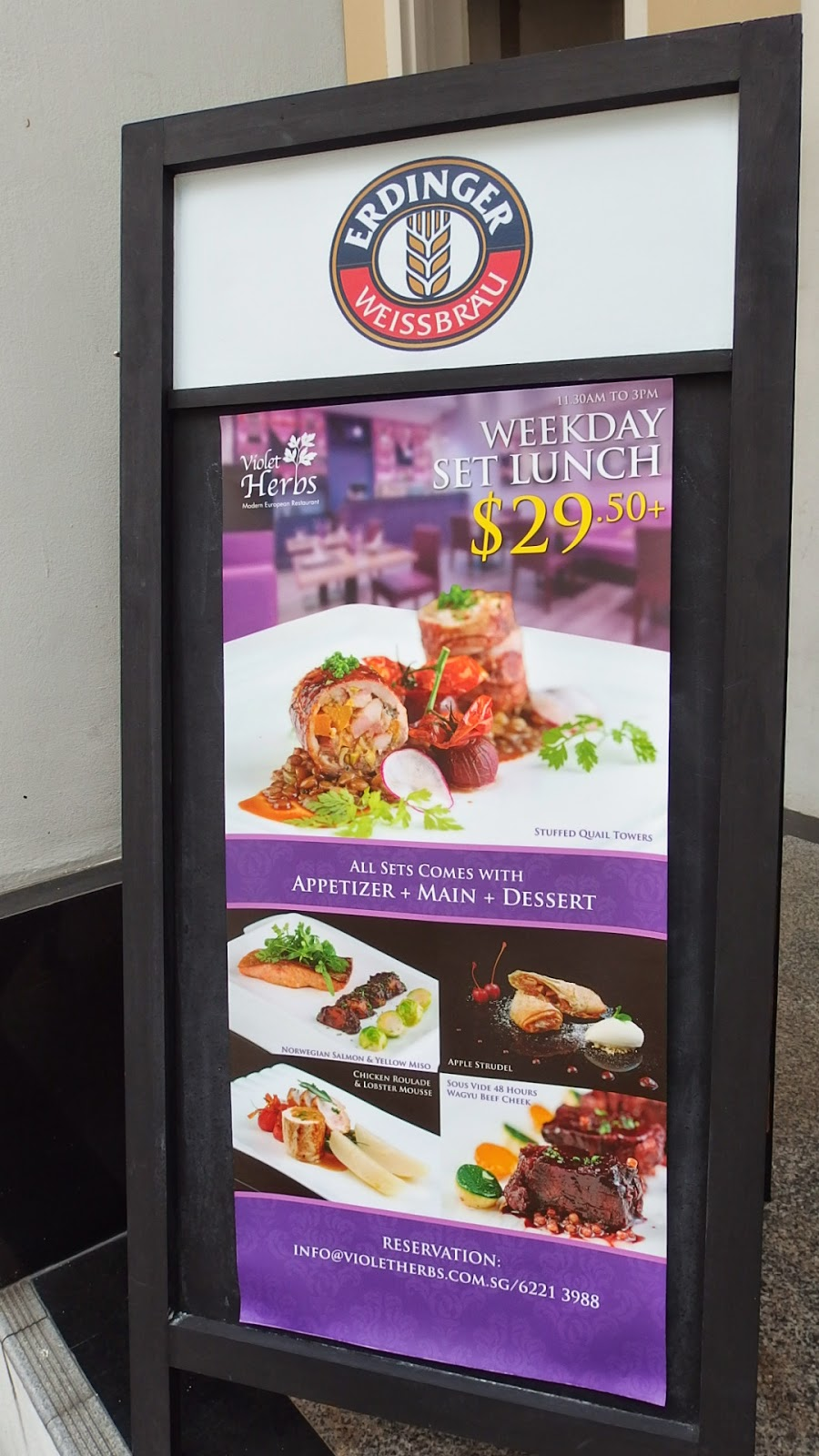 SuMMeR LoVes To Eat! Singapore Food Blog: Restaurant Week