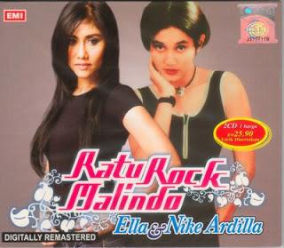 Koleksi MP3 Lagu Nike Ardilla dan Ella Ratu Rock Malindo Full Album