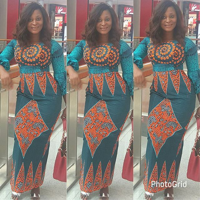 Long Gown Dress Styles : Ankara Latest Designs for Smart Ladies ...