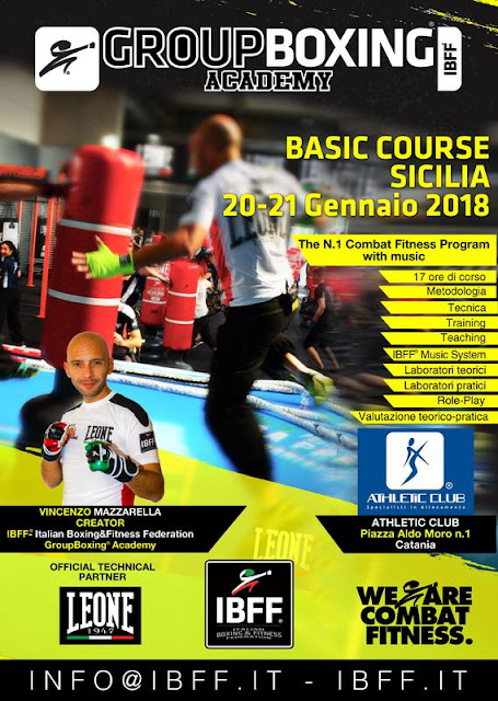 GroupBoxing® Basic- Sicilia - We are Combat Fitness, 20-21 Gennaio, Sicilia, Catania