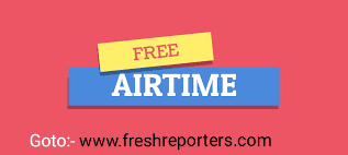 Get Free Airtime Giveaway Now