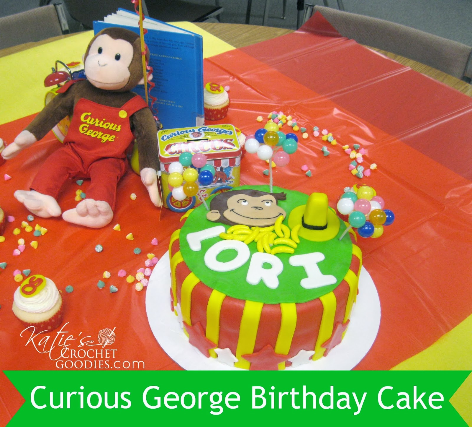 curious george cake template - curious george birthday katie 39 s crochet goodies