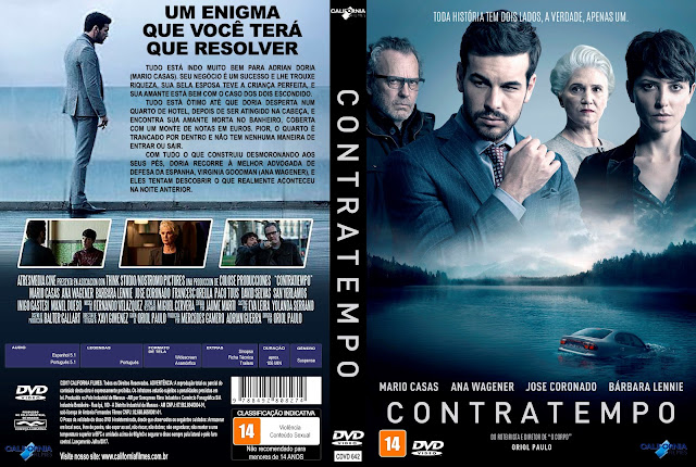 Capa DVD Contratempo [Custom]