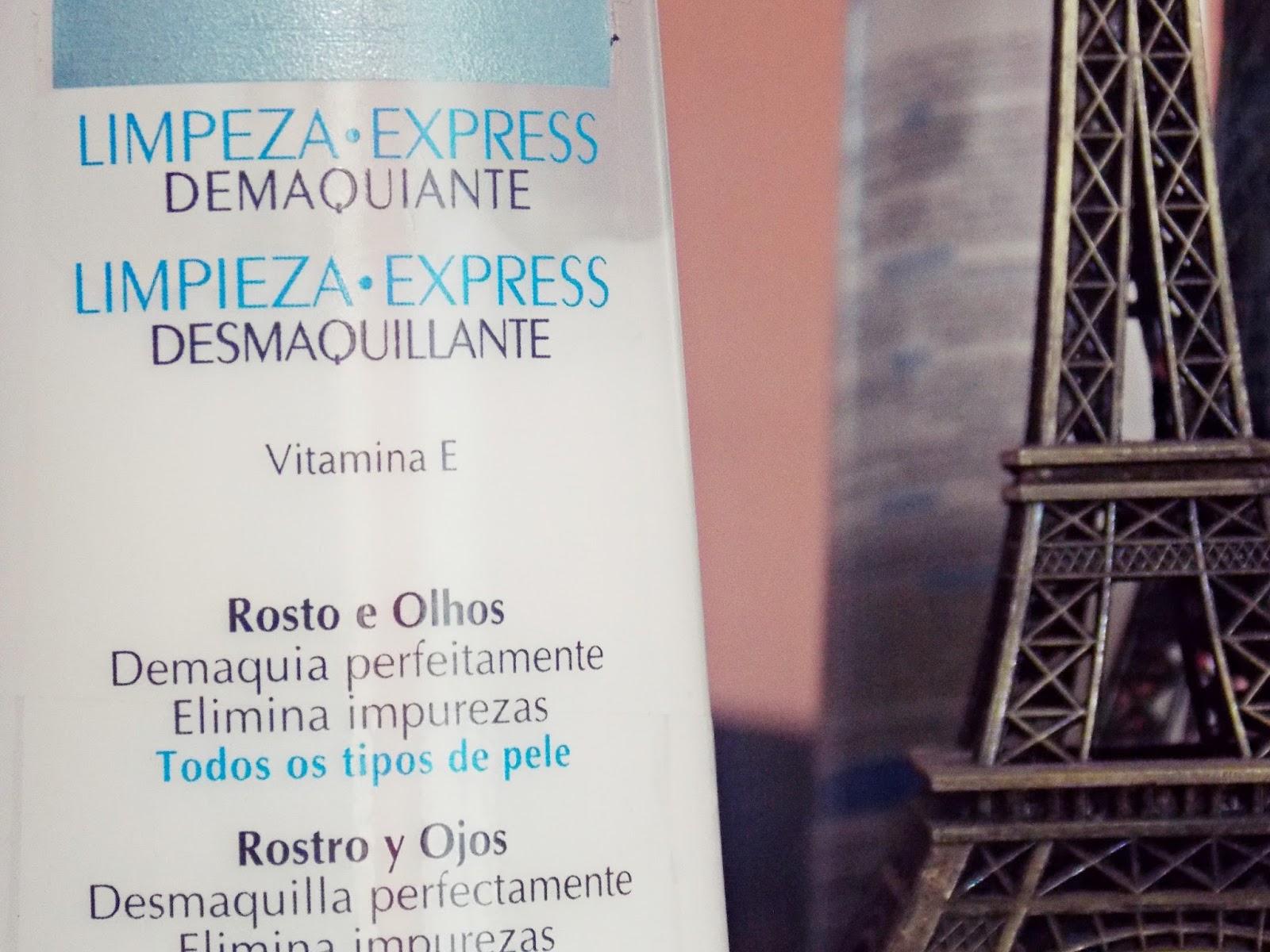 Produtos para limpeza de pele - Demaquilante Limpeza Express L'OREAL