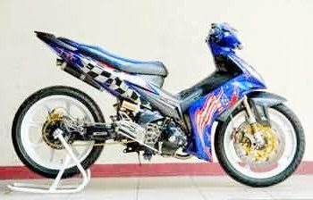 Modification of motor jupiter Mx