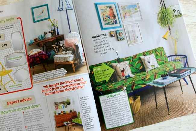 our home featured in the october issue of Home style magazine