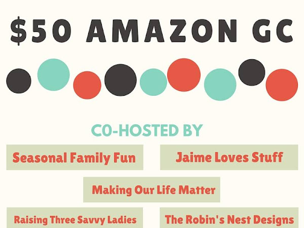 Enter to win: $50 Amazon Gift Card Ends March 17th