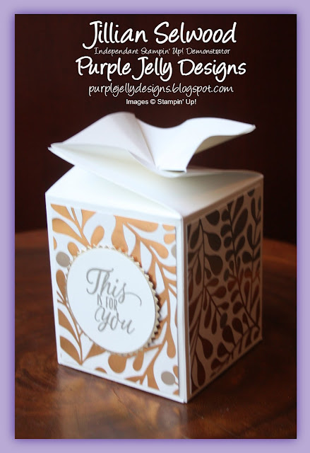 Year of Cheers Speciality Design Series Paper, Twist and close box