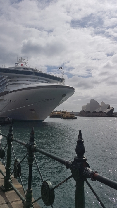 sydney with toddlers circular quay opera house | Away from the blue