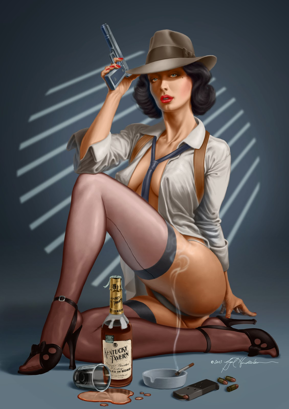 Pin Up Girls Games