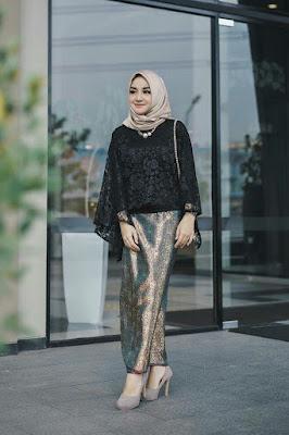 hijab tutorial lebaran 2015