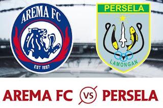 Susunan Pemain Arema FC vs Persela Lamongan - Piala Presiden 2018