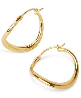 Hoop earrings don't seem to be fading from the spotlight. Over the last few years, we've seen hoops get smaller and now much bigger in diameter. Some of them are thicker and not just simple, dainty pieces. One of my favourite places to shop for jewellery is Liberty London's jewellery room, so whether you're drawn to sleek modern classics or the delicately detailed, I've put together an edit of some of my favourite hoop earrings.