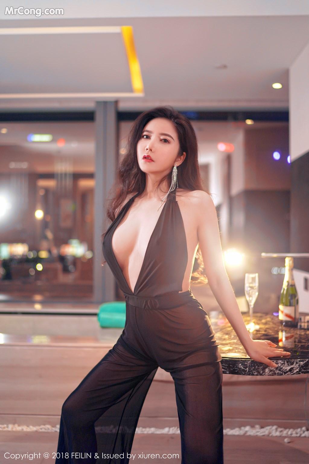 Image FEILIN-Vol.130-Xin-Yan-Gong-Zhu-MrCong.com-005 in post FEILIN Vol.130: Người mẫu Xin Yan Gong Zhu (心妍公主) (39 ảnh)