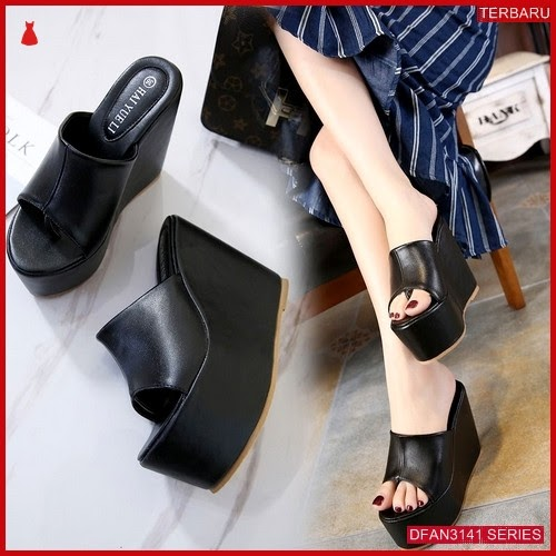 DFAN3141S122 Sepatu Ss27 Wedges 12cm Wanita Wedges Murah BMGShop