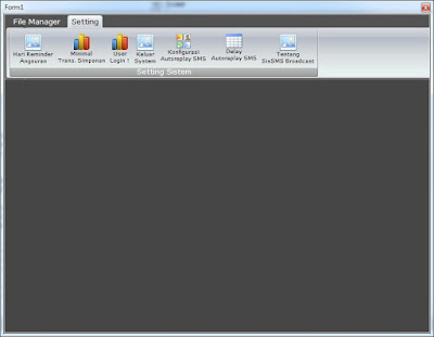 Membuat Sajian Ribbon Pada Visual Basic 6.0