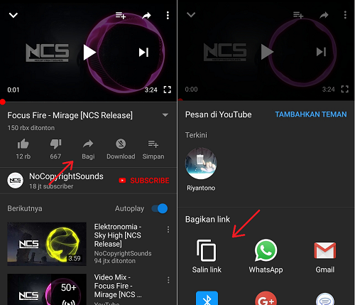 Cara Download Video Youtube Langsung Jadi Mp3