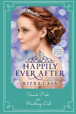 Happily Ever After Kiera Cass A Sneak Peek on Reading List
