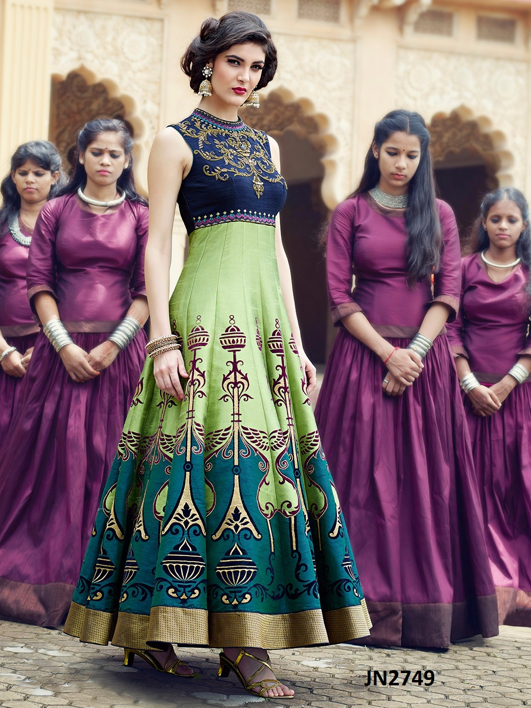 Party wear Designer stylish Gown Buy Online