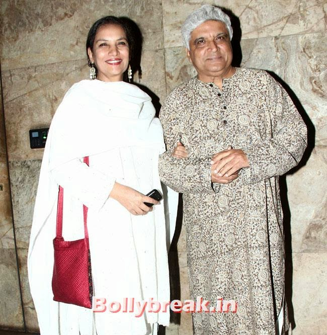Shabana Azmi and Javed Akhtar, Huma Qureshi & Others at Hawaa Hawaai Special Screening at Lightbox