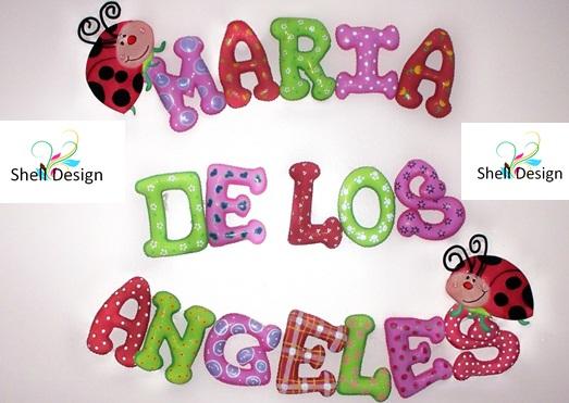 Letras decorativas para ni os y beb s decoraciones y - Letras decorativas infantiles ...