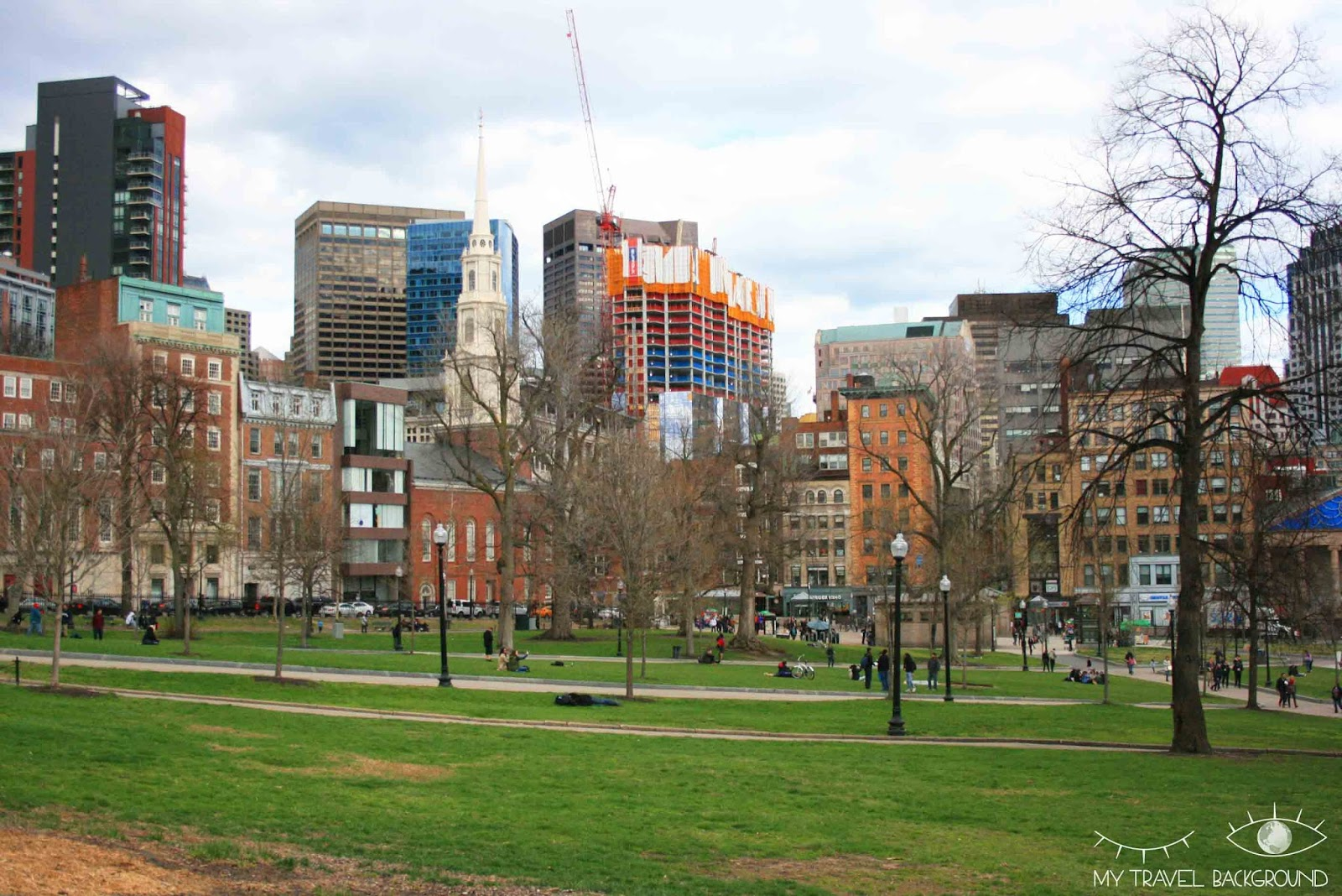 My Travel Background : Boston Common