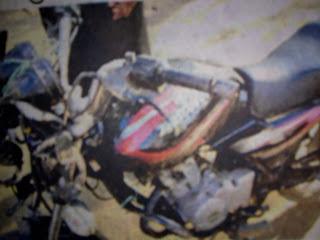 मुनिम के सिर पर सरिया मार,बदमाशो ने लुटे ₹ 2 लाख