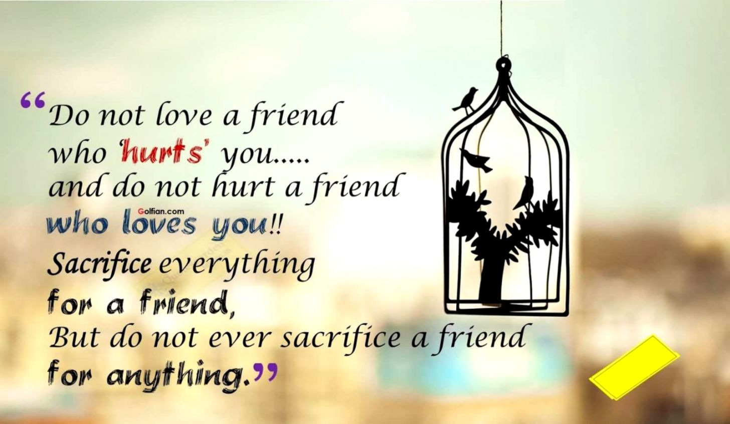 Friendship Quotes Sad Wide Wallpapers