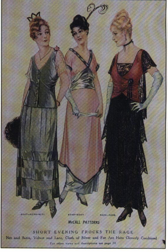 f170f9c2de MODA - 1910 à 1919