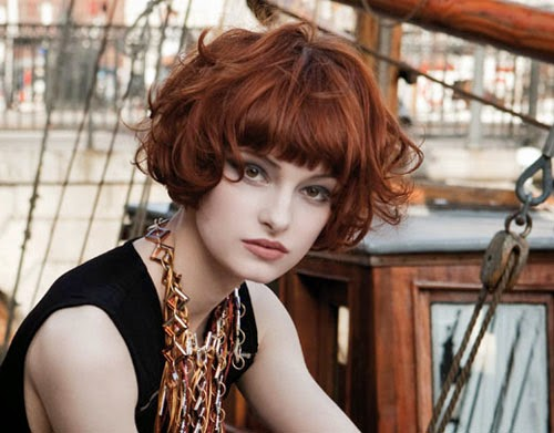 Pleasant 8 Best Short Curly Bob Hairstyles For Round Hairstyle Inspiration Daily Dogsangcom