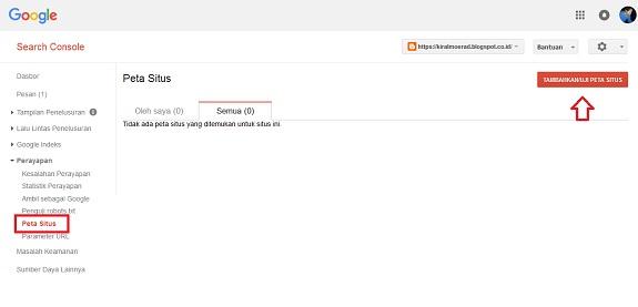 Cara Submit Sitemap Blog ke Google dan Bing