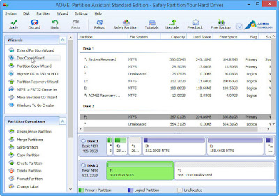 Disk Partition Management with AOMEI Partition Assistant