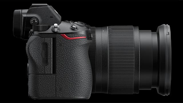 Nikon Z bagian kanan