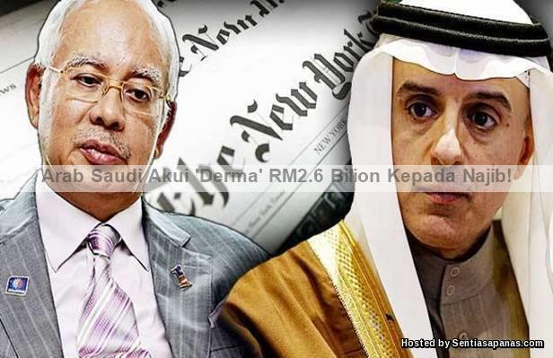RM2.6+BILION+Derma Ikhlas+ARAB SAUDI