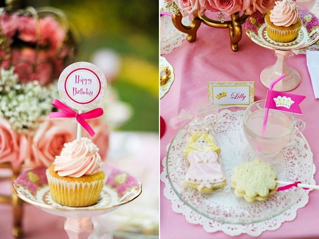 Princess Birthday Party Ideas: A DIY Fairytale Princess Birthday Party - BirdsParty.com